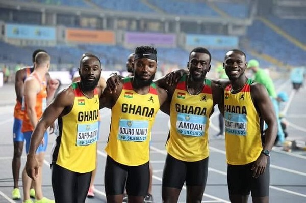 Olympic Games: Ghana qualifies for final of men's 4x100m race
