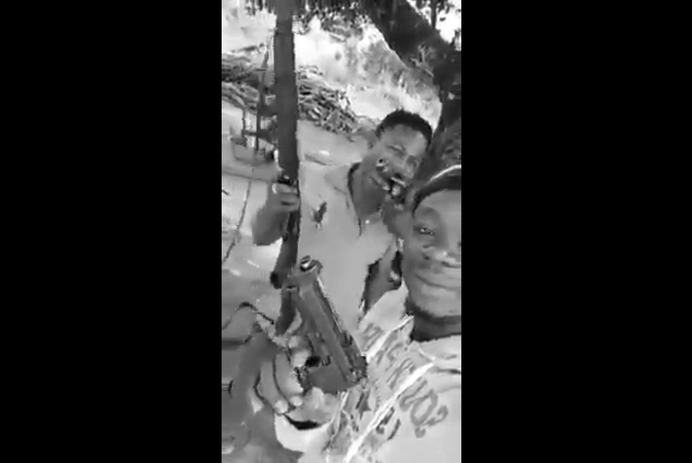 Video of young men brandishing guns surface after bullion van heist