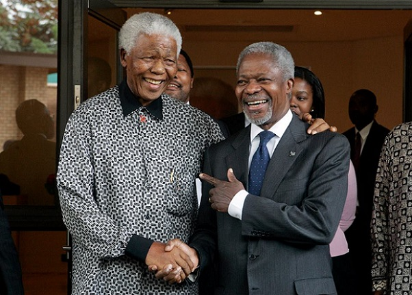 Potrait of Kofi Annan, the peacemaker