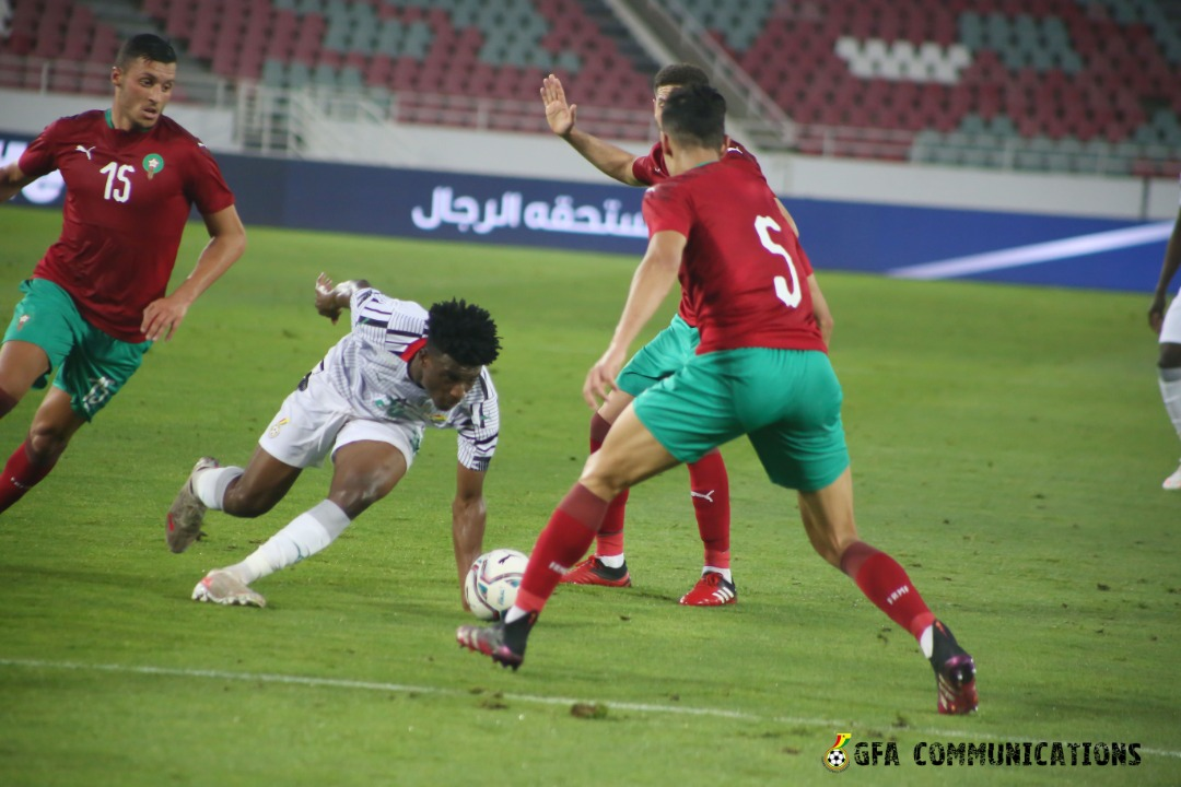 Morocco 1-0 Ghana: Black Stars lose despite good performance
