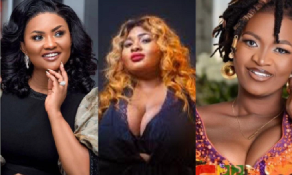 3 Ghanaian female celebrities whose abrupt weight loss sparked rumours on social media