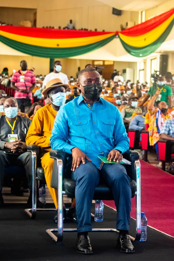 ghanaweb.com - President Akufo-Addo praises Mireku Duker as community mining scheme arrives at Akoon