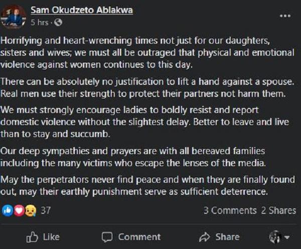 You'll never know peace – Okudzeto Ablakwa fumes at abusive partners. 4