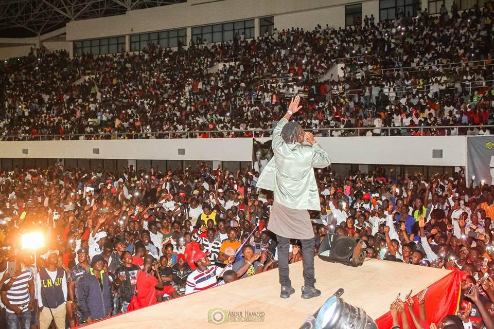 Stonebwoy & Gaddam thrill thousands at Tamale stadium