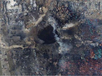 Photos: destruction after China's Tianjin port blast