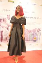 Hit or Miss: See Sandra Ankobiah's outfit to the premiere of 'Ghana Must Go'