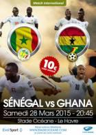Ghana v Senegal & Mali