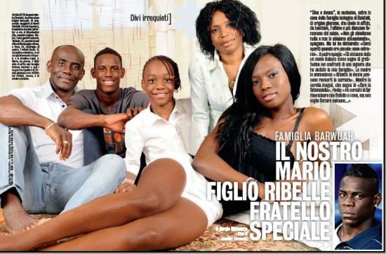 Balotelli's Family: The Bawuahs   Photos