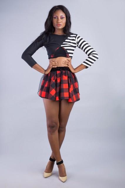 Ghanaian model Karen Cofie