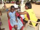 Accra Gye Nyame Club joins Measles Vaccination Campaign