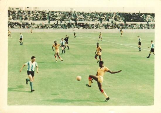 Black Stars vs Argentina, Tokyo Olympics 1964
