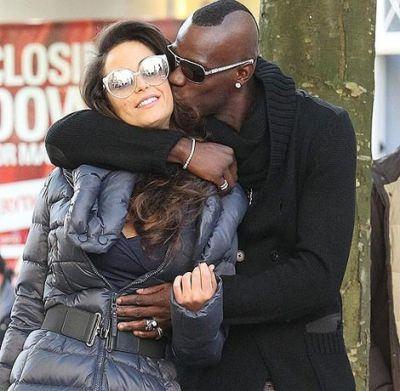 Mario Barwuah Balotelli & Girlfriend