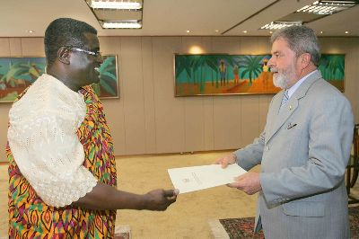 Ambassador Of Ghana To Brazil Presents Letters Of Credence