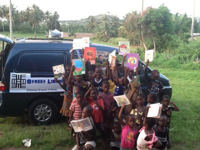 Street Library launches Ghana's first ever nation-wide book drive