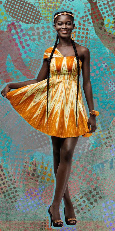 New amazing Ankara fabric and designs