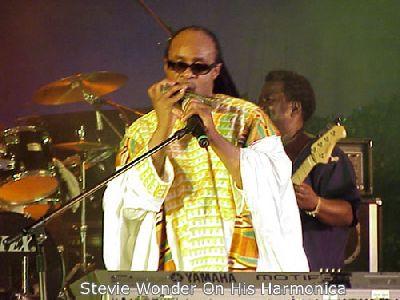 Steve Wonder In Ghana
