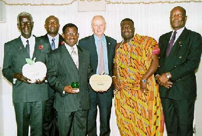 Gold And Silver Awards For Ghana