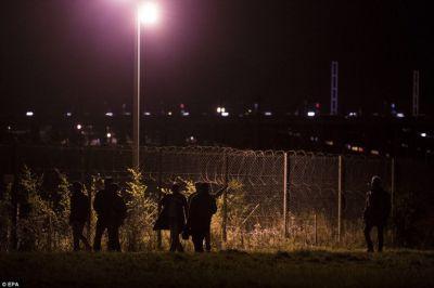 Pictures: the dangerous European 'dream' via Calais