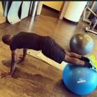 Inkoom hits the gym ....