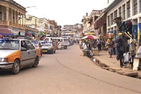 Kumasi Down Town