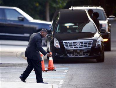 Bobbi Kristina Brown funeral draws crowd of onlookers