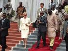 President Kufuor Seeing Off Mr&Mrs Annan