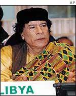 Gaddafi-In-Kente At African Union  In Ethiopia