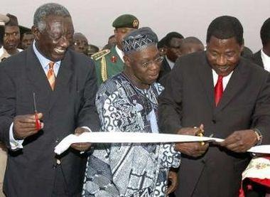 President John Kufour Visits Benin