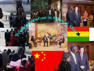President Kufuor In China