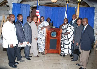 Swearing In Ceremony Of The New African Commission, NewarK, NJ