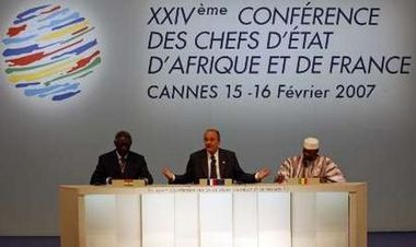 Prez  Kufuor at the 24th France-Africa summit