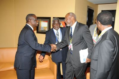President's Pictures at AU Summit