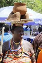 President  Mahama attends 2014, Hogbetsotso festival.