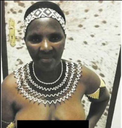 57-yr-old Zulu virgin joins Swazi topless parade