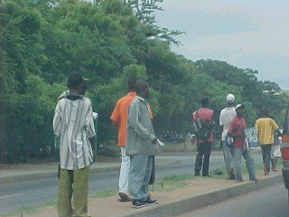 Streets of Accra...