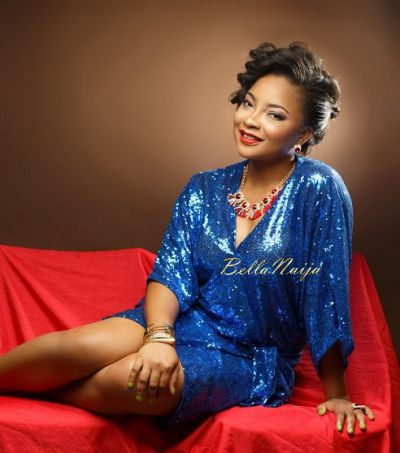 Nollywood's Linda Ejiofor poses for camera