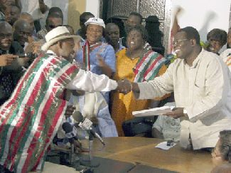 Dr Kwesi Botchwey files papers
