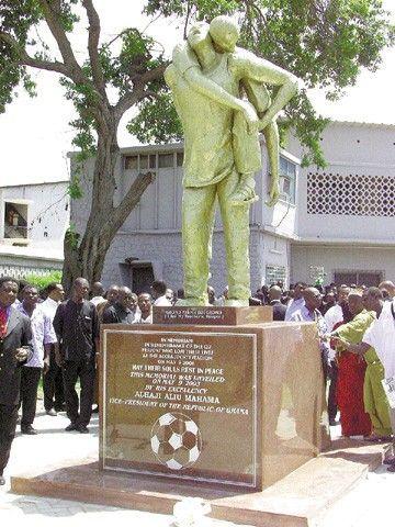 Sculptor of May 9 Monument :  Gladys Adinyira Wuaku