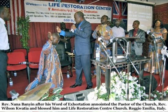 Life Restoration Temple dedicated to God | Photos