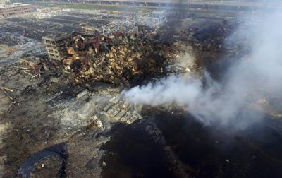China blasts death toll rises to 112, with 95 missing