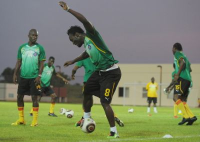 Black Stars' Training Session at the 2010 African Cup of Nations