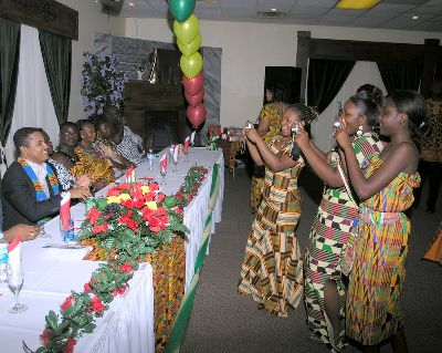 First Anniversary of kente dance in Ohio