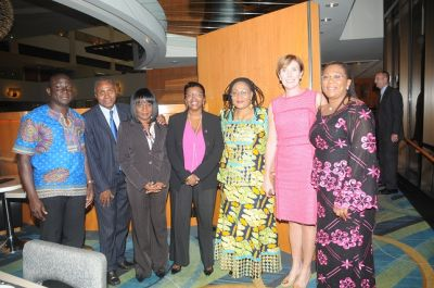 First lady meets with International Organisations