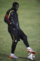 Ghana-Uruguay: Training
