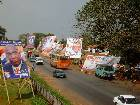 Accra awash with NPP posters