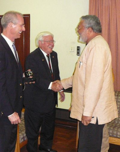 Rawlings Cautions United States On Democracy