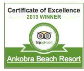 Ankobra resort bags 2013 Trip Advisors award