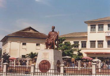 King Tackie Tawiah mousoleum at Mokola
