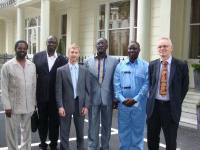 Enhancing Ghana's transport system,delegation on a study tour