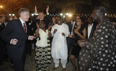 'Partnership with Africa' Conference: After party